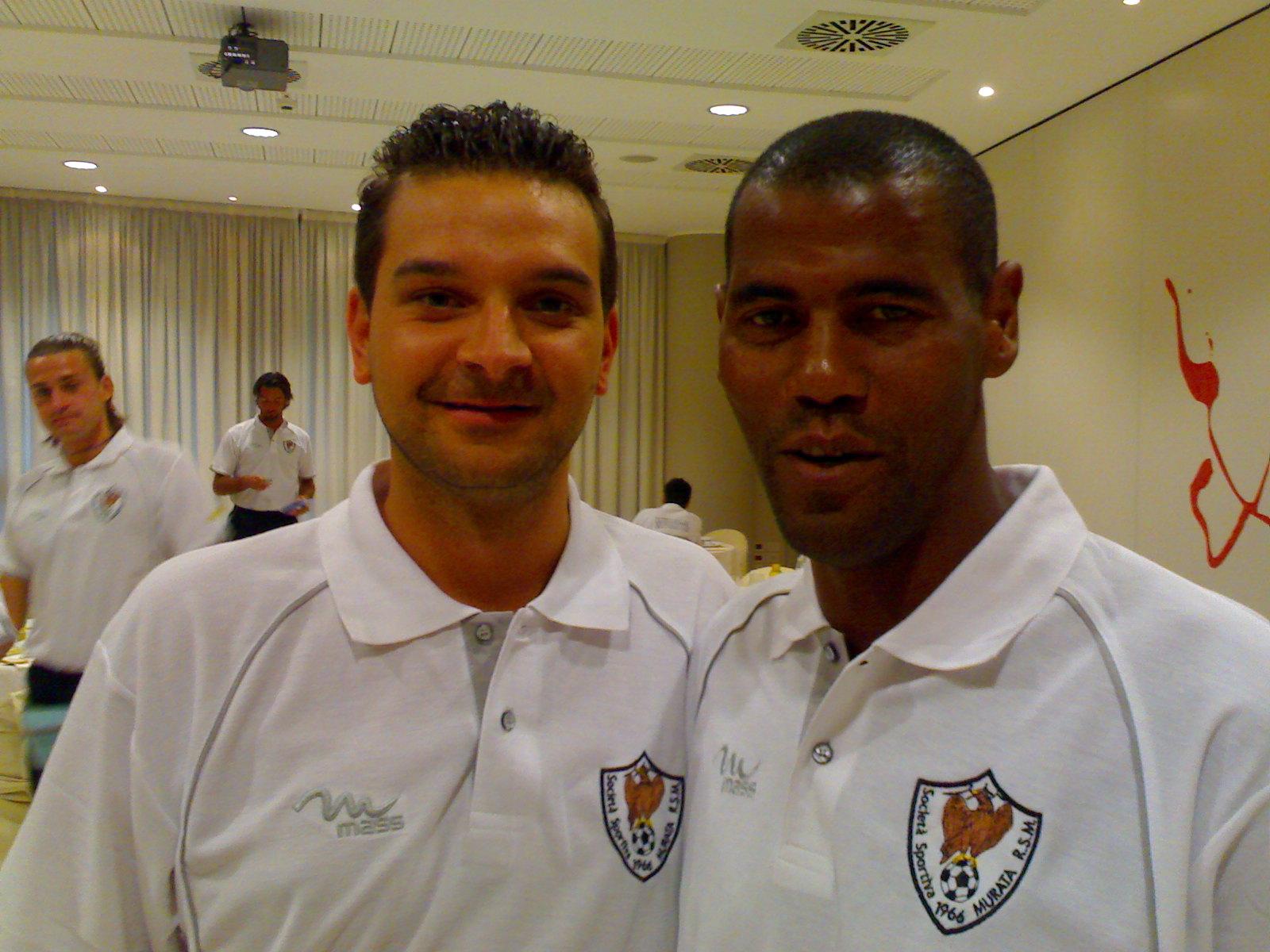 Io e il mio amico Aldair